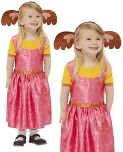 Bing Sula Costume Licensed Girls Bing Bunny Fancy Dress Sula Outfit Book Day