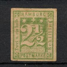 (YYAA 556) Hamburg 1864 MH GERMANY German states