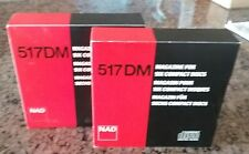 NAD 517DM 6-Disc CD Cartridge Magazine - Pair