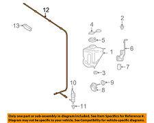 MERCEDES OEM 07-13 S550 Washer-Windshield-Hose 2218600292