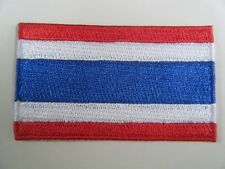 THAILAND PATCH Top Quality Embroidered Iron On THAI National Flag Badge NEW