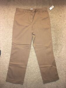 Woman's Talbots Brown Pant  ~ Size 14 ~ New With Tags Casual