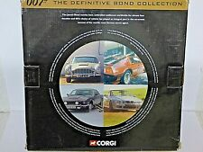 Corgi 007 Definitive James Bond Collection Gift Set