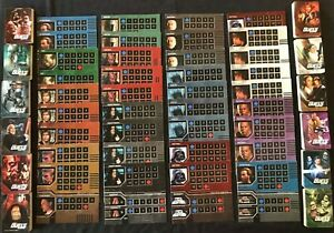 Star Wars Epic Duels Board Game Replacement Parts | Character Sheet | Deck/Cards
