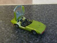 VINTAGE LESNEY MATCHBOX SUPERFAST SERIES No.52 DODGE CHARGER MKIII GREEN BODY