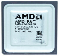 AMD-K6/266AFR 266MHz SOCKET 7