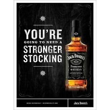 Jack Daniels. Bigger Stocking Poster 18 By 24