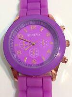 Geneva Ladies Designer Excellent Condition Working Quartz Watch