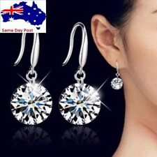 Hook Alloy Rhinestone Fashion Earrings
