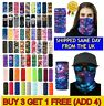 New Balaclava Neck Gaiter Tube Scarf Buff Snood Face Mask Warmer Bandanas UK