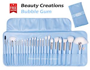 Beauty Creations Bubble Gum 24 PC BRUSH SET - Pastel Blue Makeup Brush Set