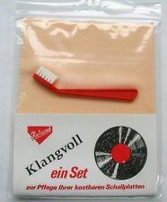 DOS AntiStatik Tuch mit Nadelreinigungsbürste