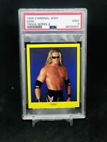 1999 Cardinal WWF Trivia Series 2 Edge PSA 9 LOW POP ROOKIE WCW WWE WRESTLEMANIA