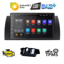 "for BMW E39 E53 X5 M5 9""HD Touch Screen Android 8.1 Car Stereo Radio GPS Navi BT"
