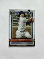 2020 Topps Museum Collection Pete Alonso New York Mets Card #52