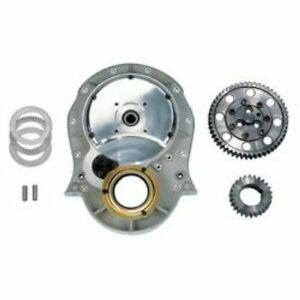 Milodon 12700 Gear Drive Single Idler Flat Cover Style Kit For Chevy Big Block