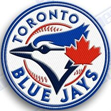 TORONTO BLUE JAYS   iron on embroidered embroidery patch baseball  logo mlb