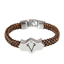 Metal Alloy Bangle Assassin's Creed Weave Wristband Game Bracelet Gift