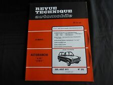 "revue technique automobile-autobianchi""A 112"" ""A 112 E"""