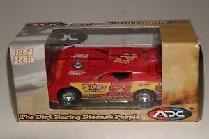 ADC Late Model Dirt Track Racing Car, Dan O'neal, 1/64th Scale