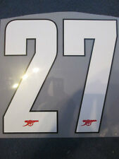 N. 27 Arsenale 2012-2013 CHAMPIONS LEAGUE HOME FOOTBALL SHIRT SET NAME NUMBER