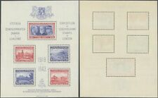 Czechoslovakia 1943 - Miniature Sheet - MNH Stamps D49