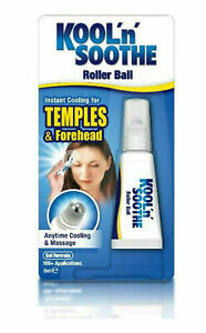 Kool 'n' Soothe Roller Ball 5ml - iNSTANT COOLING TEMPLES & FOREHEAD