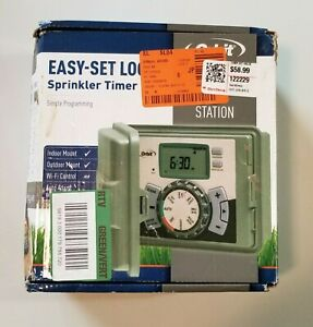 Orbit Easy-Set Logic  Programmable 6 Zone Sprinkler Timer Brand New In Open Box