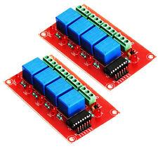 4 Relay 12V Interfacing Board IC ULN2003  pack of 2 for PIC Atmel Atmega