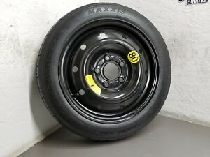 2010-2013 Kia Forte Soul Spare Tire Compact Donut OEM T125/80D15 #S106