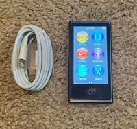 Apple iPod nano 7th Generation Slate (16 GB) - Bundle - Fully Functional