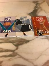 Mari Winsor Pilates 3 Dvds Endorsed by Daisy Fuentes 2002-2003