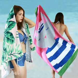 Microfiber Tapestry Blanket Summer Lovely Beach Towel Washcloth Bath 80*160cm