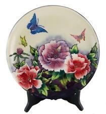 Rosendekor-Porzellan-Objekte
