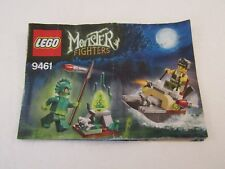 LEGO MONSTER FIGHTERS  9461 INSTRUCTION MANUAL