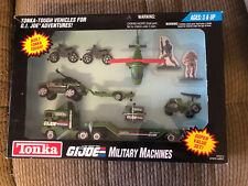 GI Joe Adventures MILITARY MACHINES Super Value Set SEALED Tonka 1993 Die-cast