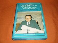 gino pallotta ,andreotti il richelieu della politica italiana ,cart. sovr. 1988