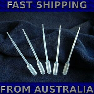 Disposable Plastic Pipettes 1mL - Packet of 90