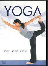 YOGA DVD - POWER, STRETCH & TONE WITH YOGA TEACHER CAROL JACKSON