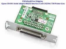 Epson Ub-s01 Serial Adapter/rs232 Interface Card C823361 TM Printer Line