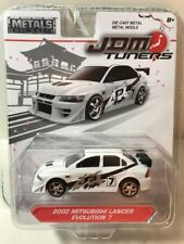 JDM Tuners Die Cast 2002 Mitsubishi Lancer Evolution 7 New Sealed
