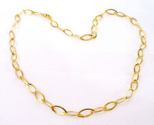 "Titanium Gold Plated Lady 45cm 17.7 "" Wedding Party Xmas Birthday Necklace Chain"