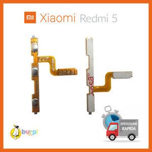 ON OFF POWER VOLUME XIAOMI REDMI 5 MDG1 FLAT FLEX TASTI LATERALI ACCENSIONE
