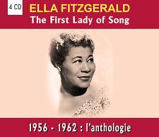 CD Ella Fitzgerald - 1956 - 1962 : l'anthologie - Coffret 4 CD