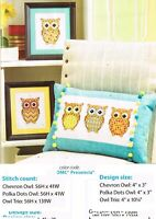 OWLS GALORE  CROSS STITCH PATTERN ONLY   YD   QEW