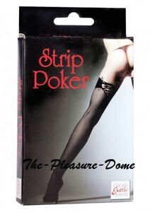 Calextics Intimate Strip Poker Card With Pictures Novelty Adult Game fun