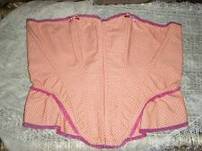 """Ann Summers, Coral Pink """"Angel Delight"""" Corset, Size 16, BNWT."""