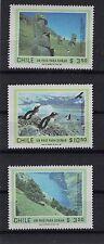 CHILE 1981 Easter Island Isla de Pascua Rapa Nui Penguin Robinson Crusoe set MNH