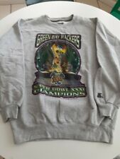 Vintage Green Bay Packers 1997 NFL Superbowl XXXI Champs Sweatshirt Size XL NWOT