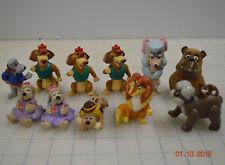 Vintage Pound Puppies Galoob Mini Figure Dog 1988 Finger Puppets Oliver mix Lot